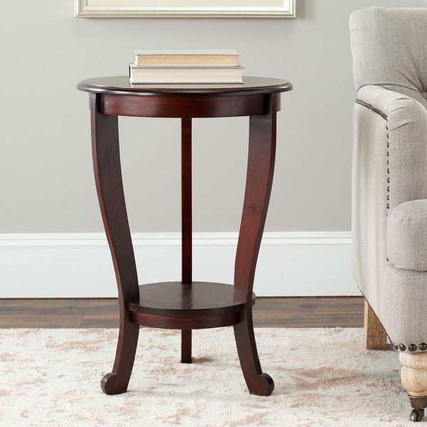 Safavieh Mary Pedastal Side Table AMH5711D