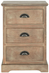 Safavieh Griffin 3 Drawer Side Table AMH5717B