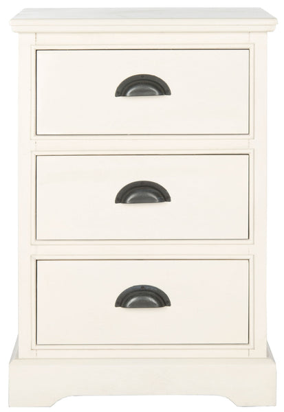 Safavieh Griffin 3 Drawer Side Table AMH5717C