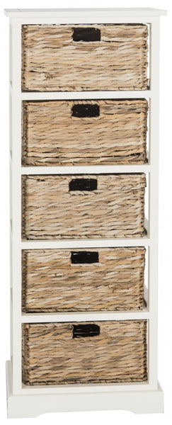 Safavieh Vedette 5 Wicker Basket Storage Tower AMH5739B