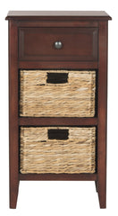 Safavieh Everly Drawer Side Table AMH5743C