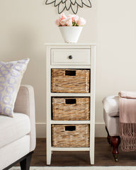 Safavieh Michaela Drawer Side Table AMH5744B