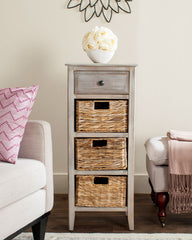 Safavieh Michaela Drawer Side Table AMH5744E