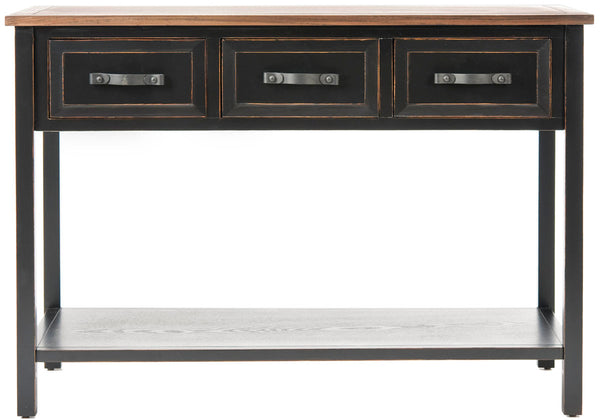 Safavieh Aiden 3 Drawer Console Table AMH6502A