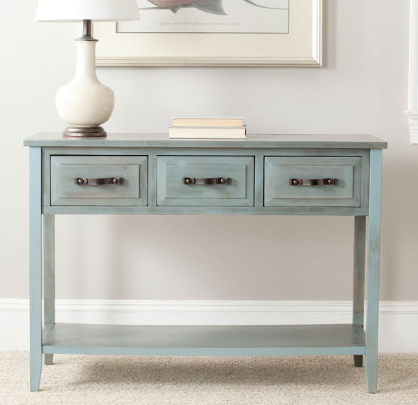 Safavieh Aiden 3 Drawer Console Table AMH6502C