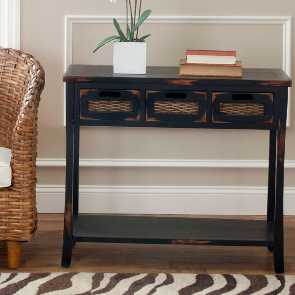 Safavieh Autumn 3 Drawer Console AMH6510A