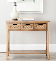 Safavieh Autumn 3 Drawer Console AMH6510B
