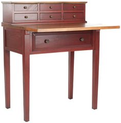 Safavieh Abigail 7 Drawer Fold Down Desk AMH6520A