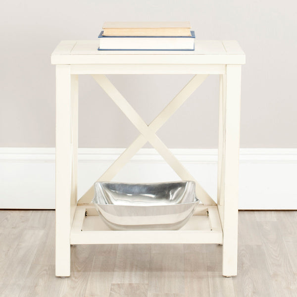 Candence  Cross Back End Table