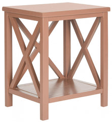 Safavieh Candence  Cross Back End Table AMH6523G