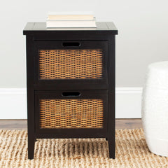 Safavieh Jonah Two Drawer End Table AMH6531B