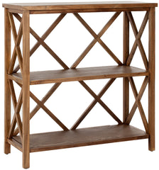 Safavieh Liam 2 Tier Open  Bookcase AMH6536C