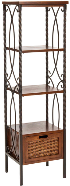 Safavieh Olivia Etagere With Drawer/2 Boxes AMH6539A