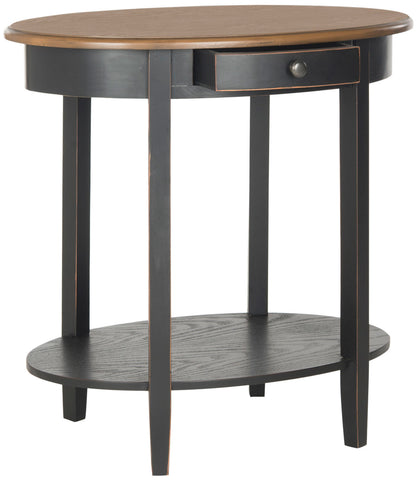Safavieh Monica Oval End Table W/ Drawer AMH6553C