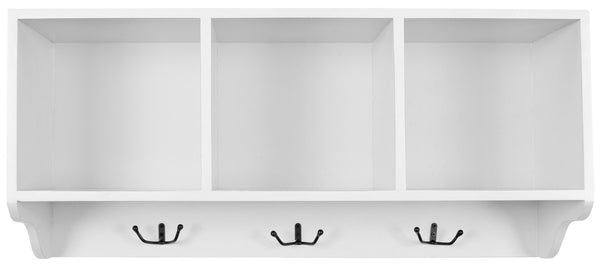 Safavieh Alice Wall Shelf With Storage Compartments AMH6566A