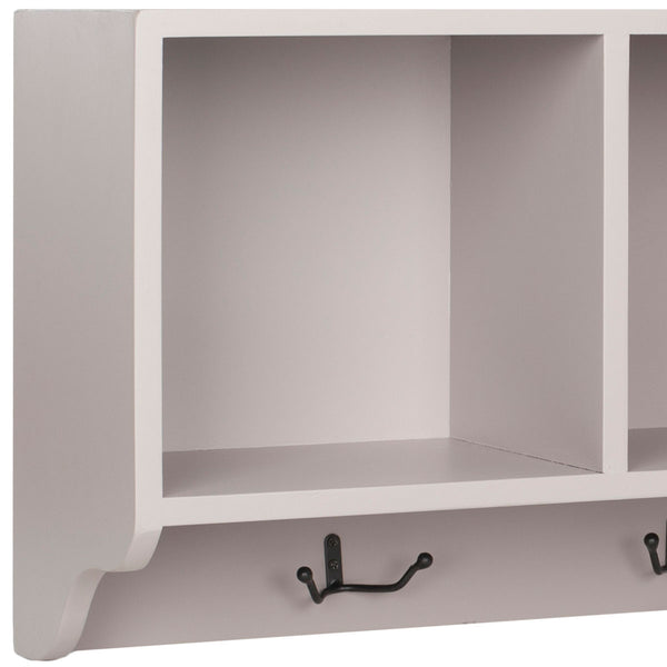 Safavieh Alice Wall Shelf With Storage Compartments AMH6566C