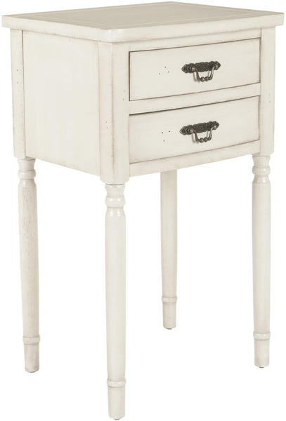 Safavieh Marilyn End Table With Storage Drawers AMH6575A