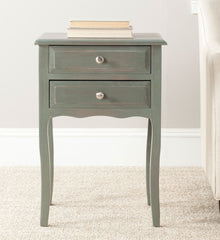 Safavieh Lori End Table With Storage Drawers AMH6576B