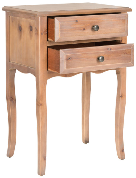 Safavieh Lori End Table With Storage Drawers AMH6576C