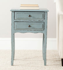 Safavieh Lori End Table With Storage Drawers AMH6576F