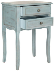 Safavieh Lori End Table With Storage Drawers AMH6576G