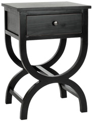 Safavieh Maxine Accent Table With Storage Drawer AMH6608B