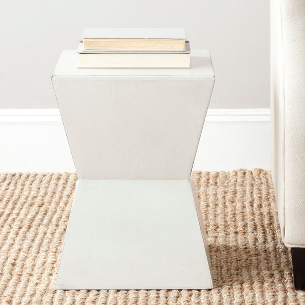 Safavieh Lotem Curved Square Top Accent Table AMH6618C
