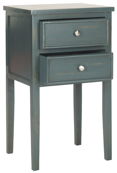 Safavieh Toby End Table With Storage Drawers AMH6625B
