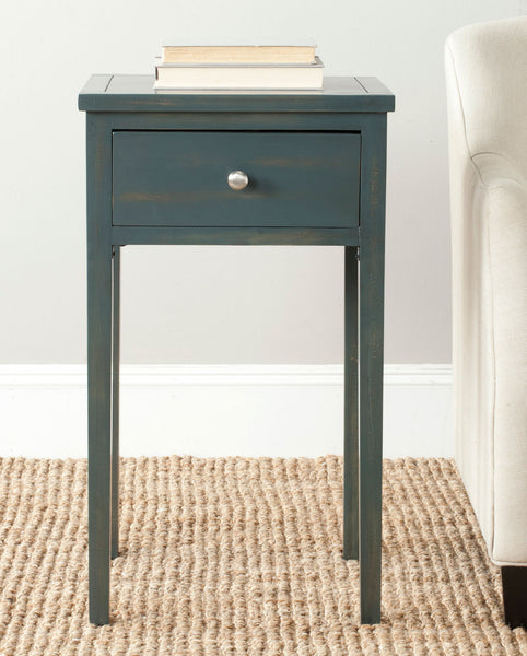 Safavieh Abel End Table With Storage Drawer AMH6626B