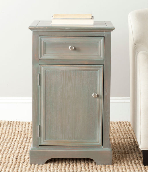 Safavieh Jarome Storage End Table W/ Drawer & Door AMH6627A