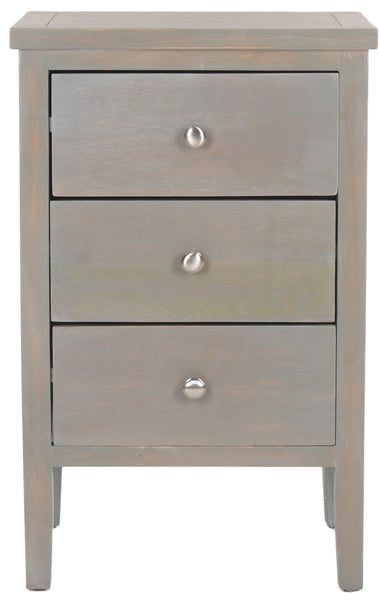 Safavieh Deniz End Table With Storage Drawers AMH6628A