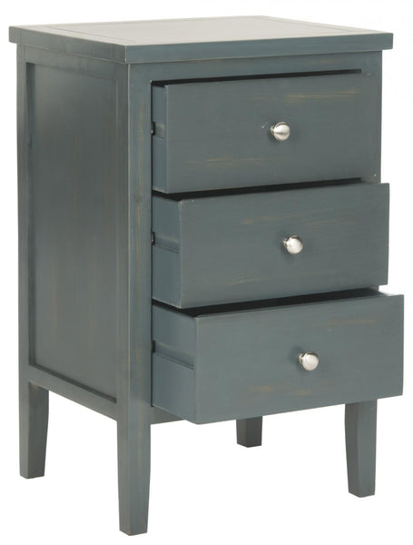 Safavieh Deniz End Table With Storage Drawers AMH6628B