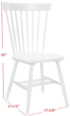 Safavieh Parker 17''H Spindle Dining Chair (Set Of 2) AMH8500A-SET2