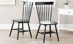 Safavieh Parker 17''H Spindle Dining Chair (Set Of 2) AMH8500B-SET2