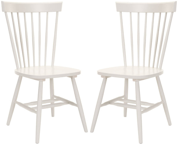 Safavieh Parker 17''H Spindle Dining Chair (Set Of 2) AMH8500E-SET2