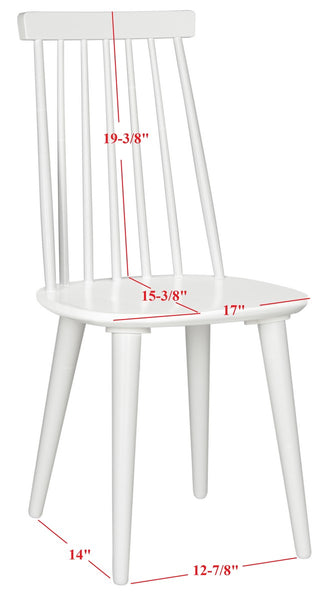 Safavieh Burris 17''H Spindle Side Chair AMH8511B-SET2