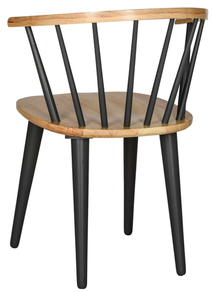 Safavieh Blanchard 18''H Curved Spindle Side Chair AMH8512E-SET2