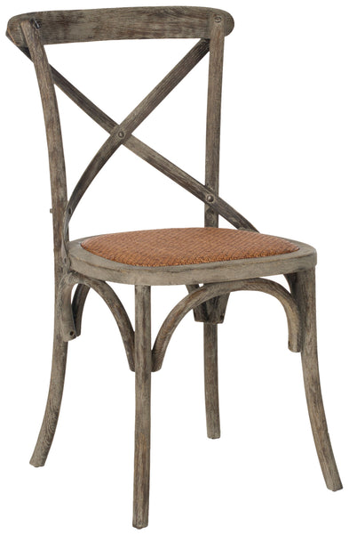 Safavieh Franklin 18''H X Back Farmhouse Chair (Set Of 2) AMH9500D-SET2