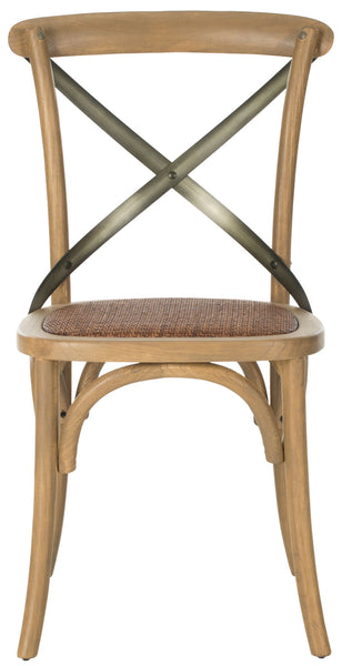 Safavieh Eleanor 18''H X Back Farmhouse Side Chair AMH9501C-SET2