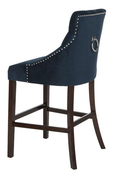 Safavieh Eleni Tufted Wing Back Bar Stool BST6304A-SET2