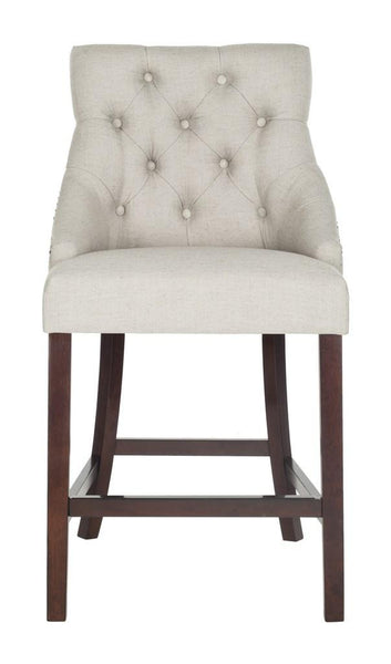 Safavieh Eleni Tufted Wing Back Counter Stool BST6305D-SET2