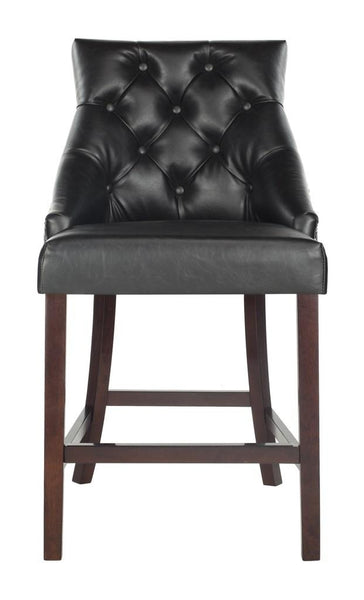Safavieh Eleni Tufted Wing Back Counter Stool BST6305F-SET2