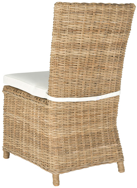 Safavieh Sebesi 17''H Rattan Side Chair FOX1600A-SET2