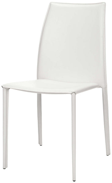 Safavieh Korbin 19''H Stacking Side Chair (Set Of 2) FOX2000A-SET2
