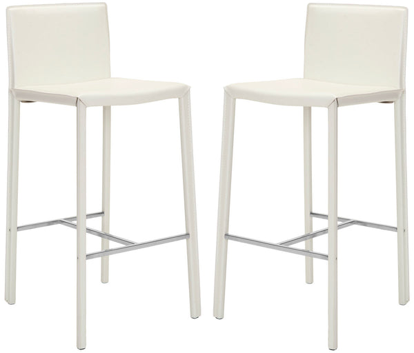 "Safavieh Jason 30"" Bar Stool (Set Of 2) FOX2002A-SET2"
