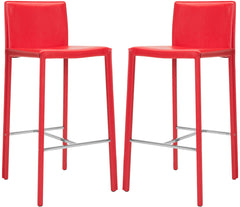 "Safavieh Jason 30"" Bar Stool (Set Of 2) FOX2002R-SET2"