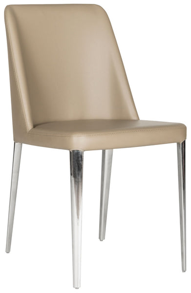 Safavieh Baltic 18''H Leather Side Chair FOX2012E-SET2