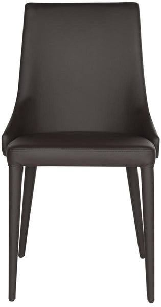 Safavieh Summerset 19''H Leather Side Chair FOX2014D-SET2