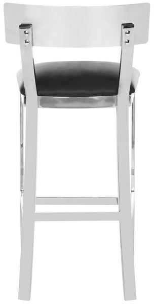 Safavieh Abby 39''H Stainless Steel Bar Stool FOX2037A