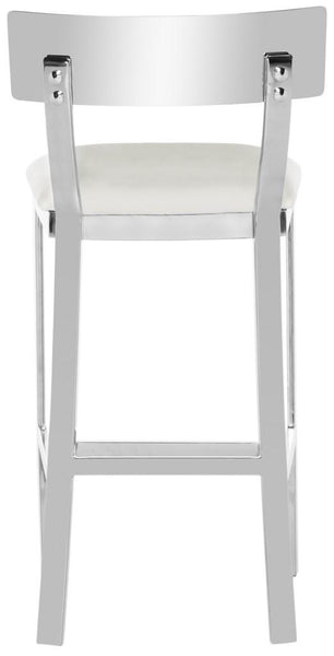 Safavieh Abby 35''H Stainless Steel Counter  Stool FOX2038B